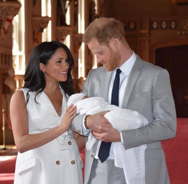 Стана ясно къде е проплакал за първи път принц Арчи
