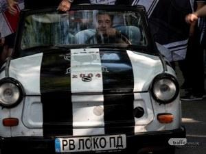 Черно-бялата радост в Пловдив в още СНИМКИ