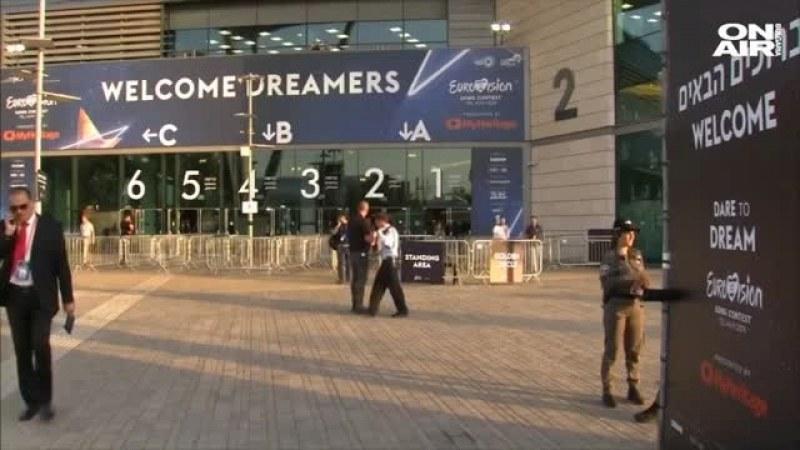 20 000 полицаи пазят финалите на Евровизия