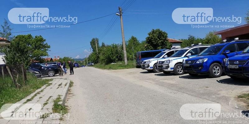 Едно от оръжията на Зайков открито на около 6 км от дома му