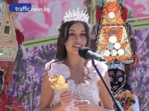 16-годишна красавица от Карлово беше коронясана на Празника на розата