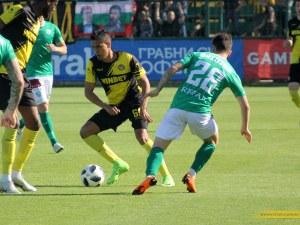 Ботев не можа да се вдигне след финала - загуби и във Варна ВИДЕО
