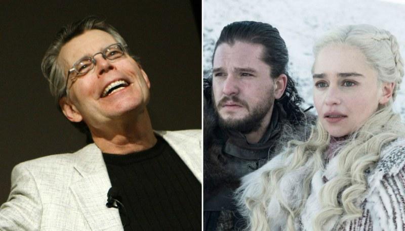 Стивън Кинг се застъпи за Game of Thrones