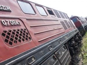 Локомотивът на бързия влак от София за Горна Оряховица се запали!
