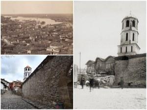 Преди и сега: Пожари изпепелили две тепета в Стария град, десетки къщи рухнали при земетресенията
