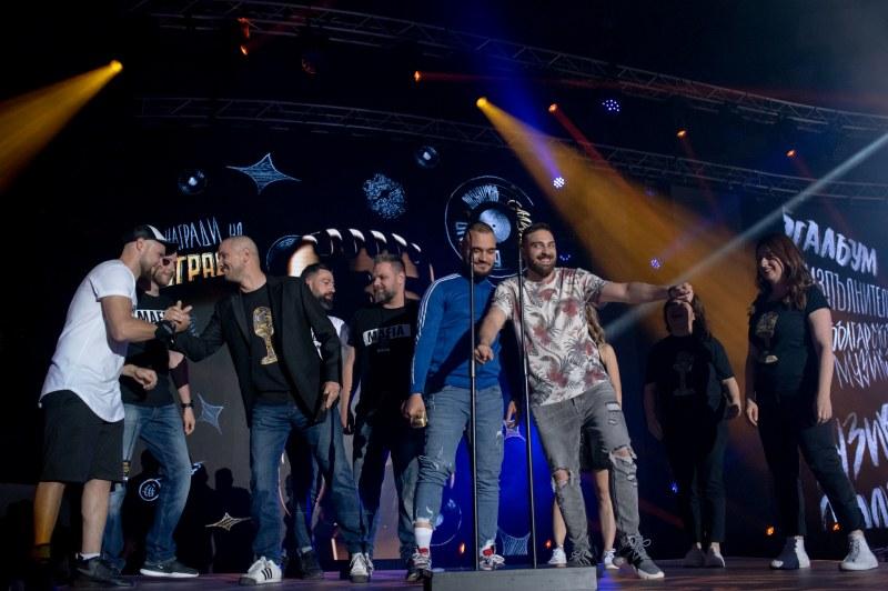 В Пловдив: 6000 аплодираха Скандау на наградите на БГ радио