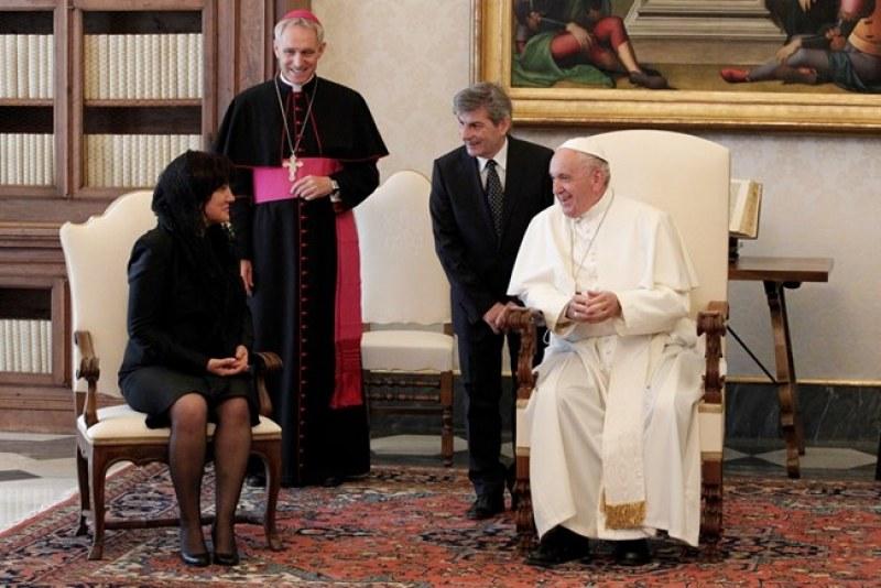 Папа Франциск към българите: Вие сте народ и дълга история и дълбока вяра