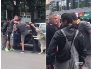 Побой в Пловдив! Мъже нападнаха шофьор в колата му