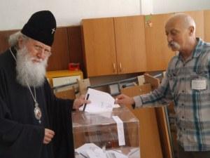 Патриарх Неофит гласува за Европейски парламент