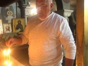 Преди да гласува, Бойко Борисов се помоли в църква в Банкя