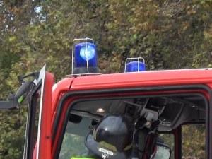 Трима работници са в болница след пожар край Павел баня
