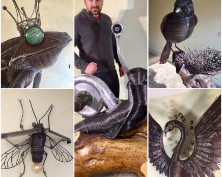 Жаби с очи от стара лада и 300 кг  врабче във фантастичния свят на Антон Урдажиев