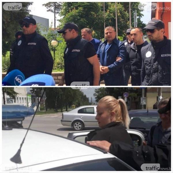 Кметът на Божурище с белезници и в патрулката: Нямам притеснения!