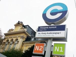 144 800 пътници са използвали нощния градски транспорт в София за 1 г.