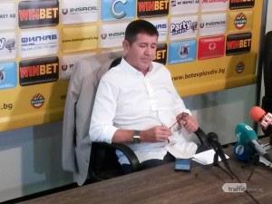 Ботев Пловдив уволни Николай Киров! Решението – лично на Самуилов