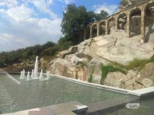 Красота! Съживиха водното огледало под акведуктите на Бунарджика