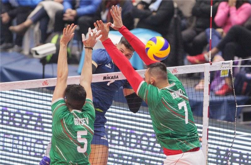 Националите ни по волейбол не успяха срещу Аржентина