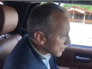 Бойко Борисов се метна на колата - вози министъра на образованието и го изпитва