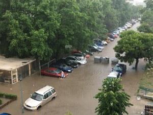 Евакуираха цяла болница в Пловдив, пълна е с вода, няма и ток