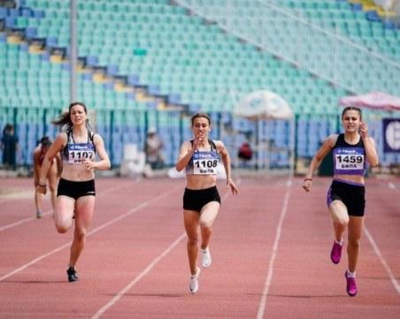 Надежда на Локомотив със златен дубъл на държавното по лека атлетика
