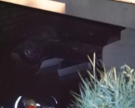 Джип падна от мост в ремонт в Монтанско. Мъж загина при ПТП-то