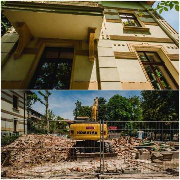 Нагледно: Две къщи от наследството на Шнитер - едната шедьовър, другата сравнена със земята