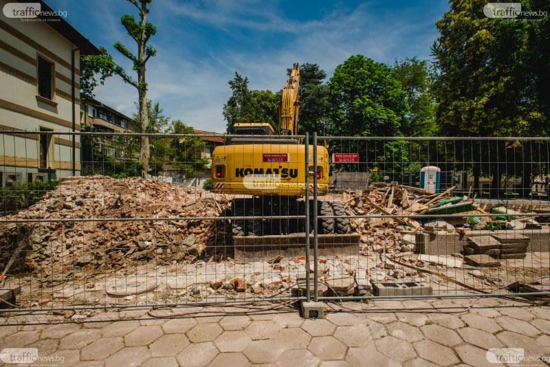 Реставрация по нашенски! Така инвеститор опази паметник на културата в центъра на Пловдив