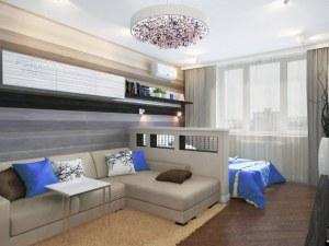 2 в 1: Как да обзаведем хола, който всъщност е и спалня?