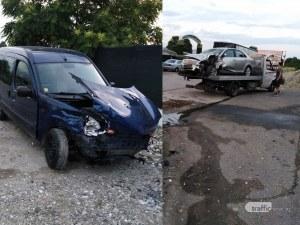 Тежка катастрофа на един от изходите на Пловдив, предизвика я 80-годишен шофьор