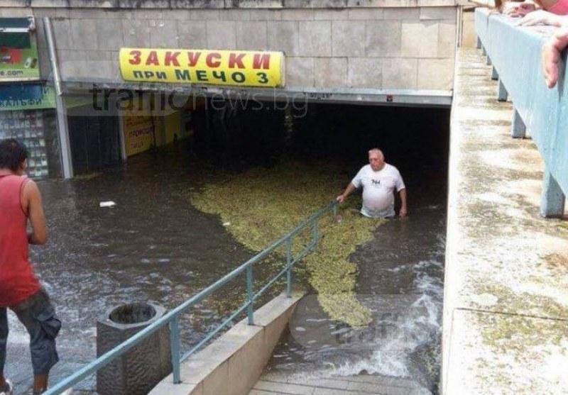 Най-оборотните подлези в Пловдив остават без магазини – нова визуална концепция или страх от водата?
