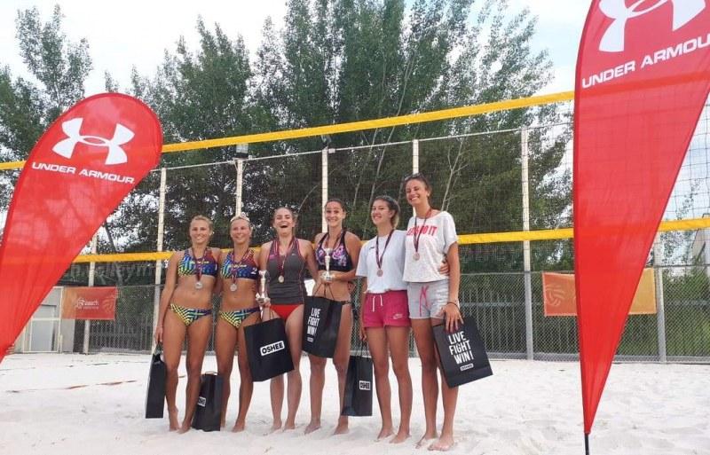 Пловдивчанки с бронзови медали на турнир по плажен волейбол