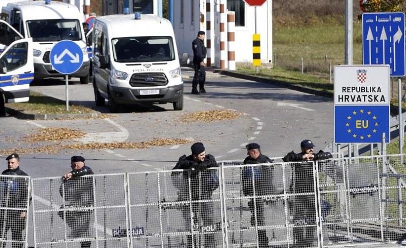Хърватия издигна стена на границата си с Босна и Херцеговина
