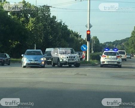 Катастрофа на Коматевско шосе! Джип връхлетя автомобил