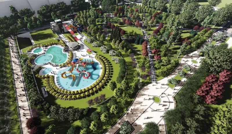 Минерална вода без пари блика в бъдещия аквапарк на София