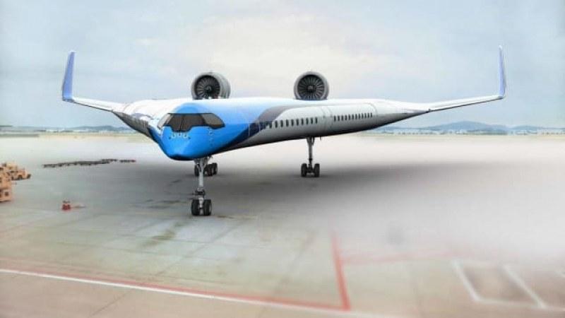 Авиокомпания разработи изцяло нов дизайн на пътнически самолет