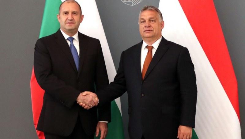 Радев се видя с Орбан. Искат силна Европа и план за борба с миграцията