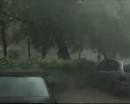 Силна лятна буря удари Сливен