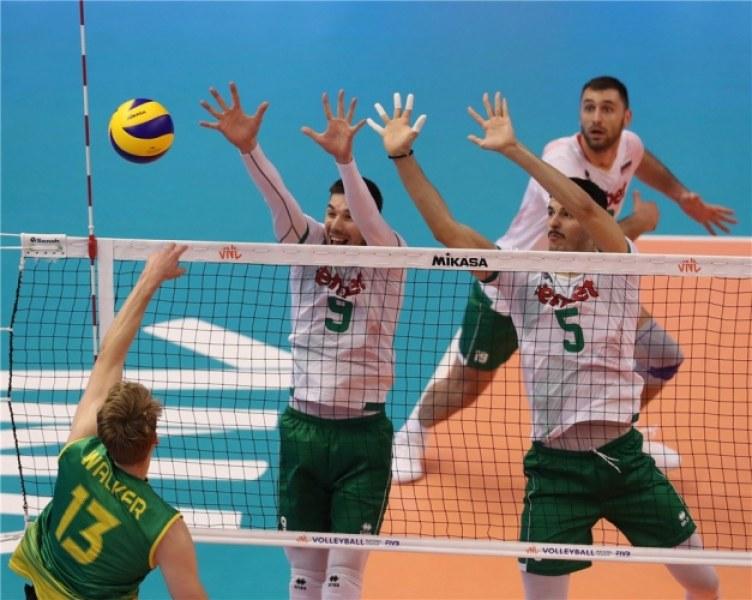 Волейболистите с трудна победа в Лигата на нациите във Варна