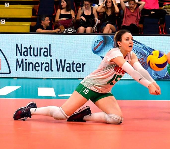 Волейболистка на Марица втора в престижна класация в Лигата на нациите