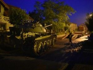 Пиян поляк подкара съветски танк по улиците