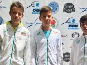 Пловдивски талант в отбора на Тенис Европа