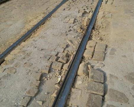 Разбит паваж, прах, дупки... Софийски булевард или късче от Луната?
