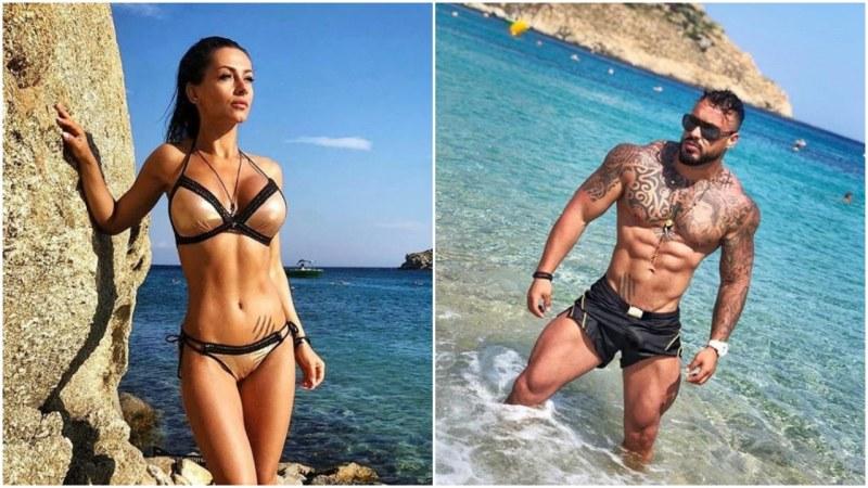 Сгодените отскоро Джулия и Кристиан на романтична почивка в Миконос