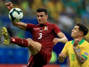 Бразилия се издъни на Копа Америка след три отменени гола