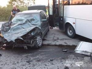 Водачът на автобуса причинил тежката катастрофа на Околовръстното на Пловдив