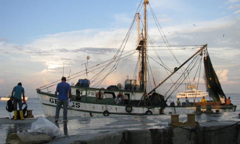 Рибарски кораб акостира в Пловдив