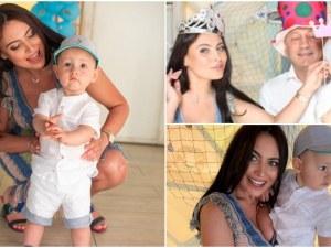 Лили Ангелова с морско парти за 1-вия рожден ден на сина си