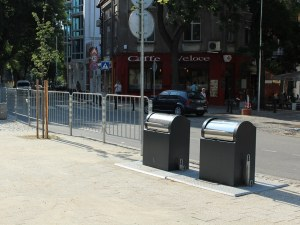 Пловдив се сдоби с още подземни контейнери за боклук