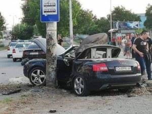 Това е колата, в която загина 19-годишно момиче