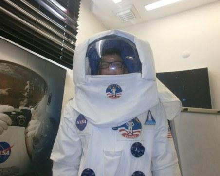 Петокласник от Пловдив, вдъхновен от Космоса и Галактиката, посети лагера на НАСА в Турция